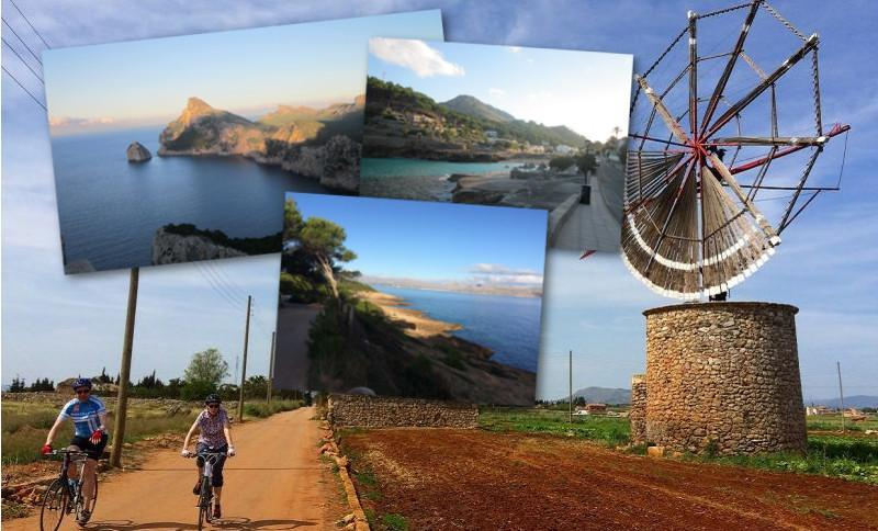Mallorca summer cycling leisure with Sportactive