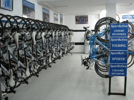 SportActive bike garage in Mallorca