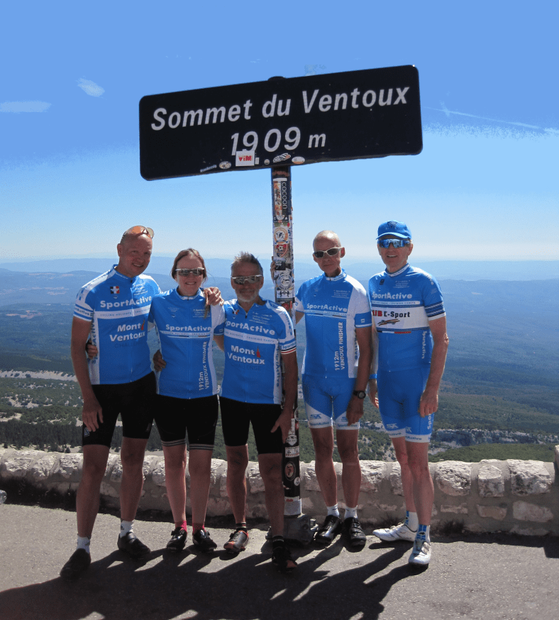 ventoux summit sign group